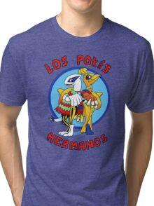 Los Pokés Hermanos Tri-blend T-Shirt