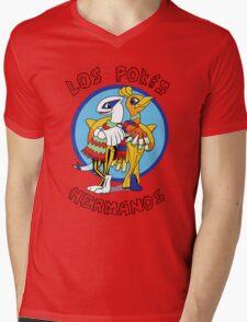 Los Pokés Hermanos Mens V-Neck T-Shirt