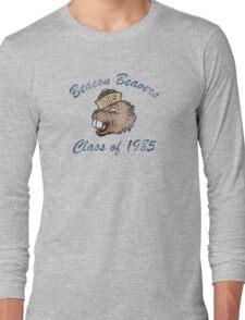 Beacon Beavers Class of 1985 (Teen Wolf) Long Sleeve T-Shirt