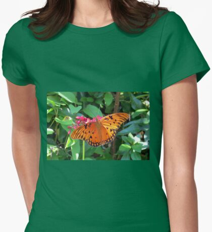 Sunshine On My Wings Womens Fitted T-Shirt