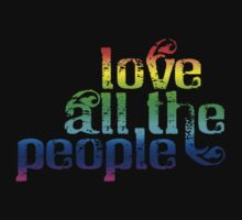 Love All The People (Pride Version) by morganmcf