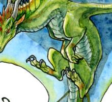 Azure-Winged Dragon Sticker