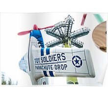 Toy Soldiers Plane Poster