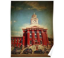 Brookville courthouse Poster