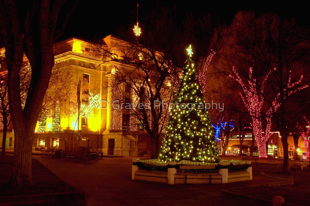 The Courthouse Plaza by K D Graves Photography