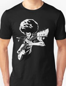 Afro Rock Guitarist T-Shirt