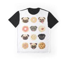 Pug Food - #Pug #Tumblr #PugsAreAwesome #PugLife Graphic T-Shirt