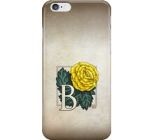 B is for Begonia - full image iPhone Case/Skin