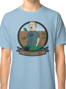 King of the Hill Inspired - Bobby Hill Self-Defense - That's My Purse - Bobby Hill Parody Classic T-Shirt