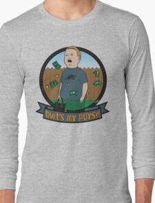 King of the Hill Inspired - Bobby Hill Self-Defense - That's My Purse - Bobby Hill Parody Long Sleeve T-Shirt