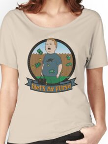King of the Hill Inspired - Bobby Hill Self-Defense - That's My Purse - Bobby Hill Parody Women's Relaxed Fit T-Shirt