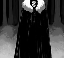 jon snow of the night's watch by sertansaral