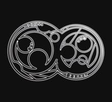 Bad Wolf- Circular Gallifreyan One Piece - Short Sleeve