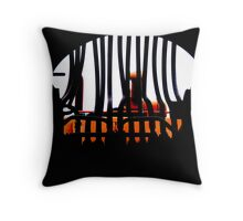 The Pipes of Destruction   Throw Pillow