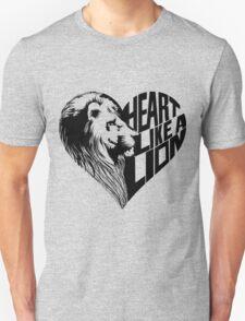Heart Like A Lion T-Shirt