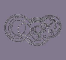 The Weeping Angels- Circular Gallifreyan Kids Tee