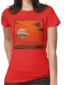 happy orb Womens Fitted T-Shirt