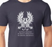 In War, Victory (White) Unisex T-Shirt