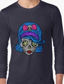 She Sugar Skull Long Sleeve T-Shirt