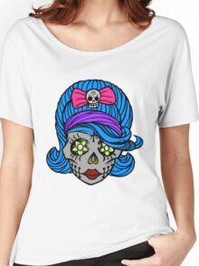 She Sugar Skull Women's Relaxed Fit T-Shirt