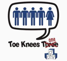 Toe Knees one - gender equity fail by KISSmyBLAKarts
