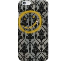 Sherlock 221B Baker Street Wall iPhone Case/Skin