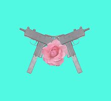 Floral Guns by POSH OUTSIDERS