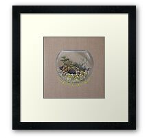 Cracking Space Framed Print