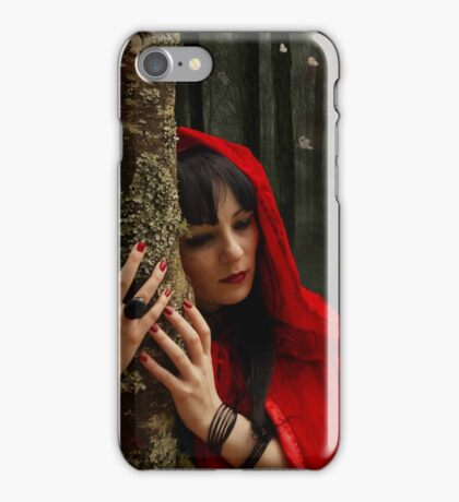 Hey There Little Red Riding Hood iPhone Case/Skin