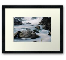 Tranquility at Great Falls Framed Print