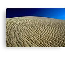 Wave Sand Canvas Print
