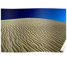 Wave Sand Poster