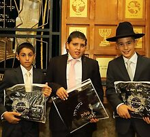 The three Bar Mitzvah Boys celebrating their Bar Mitzvah by zionorphanage