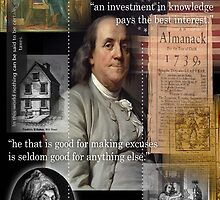 ben franklin by arteology