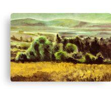 Acryl - Plein air Canvas Print