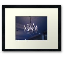 Hotel Lamp Bath Framed Print