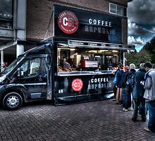 Coffee Queue by Andrew Pounder