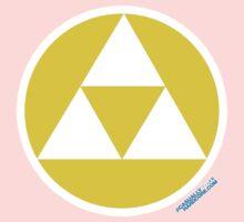Triforce Power Wisdom Courage Gamer by GeekGamer