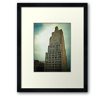 """""""Kansas City Gotham"""" Framed Print"""