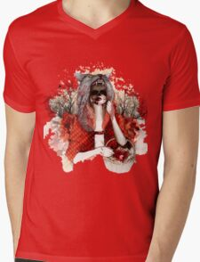 My Little Red Riding Hood.... Mens V-Neck T-Shirt