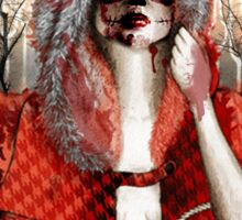 My Little Red Riding Hood.... Sticker