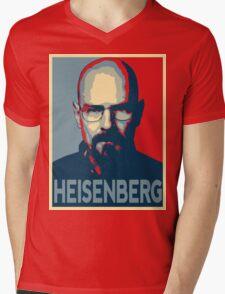 Obamized Mr Heisenberg (Red) Mens V-Neck T-Shirt