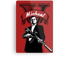 GTA 5 - Michael  Metal Print