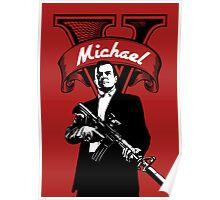GTA 5 - Michael  Poster