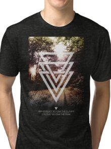 Mystic Forrest  Tri-blend T-Shirt