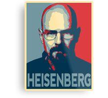 Obamized Mr Heisenberg (Blue) Metal Print