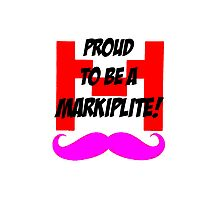 Proud to be a Markiplite! Photographic Print