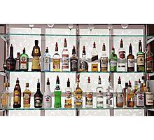 Alcohol Bar Photographic Print