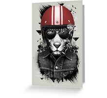 Jungle Rider Greeting Card