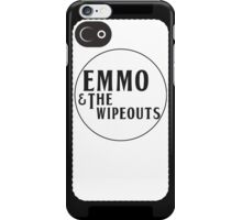 Emmo and the Wipeouts - White version iPhone Case/Skin